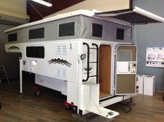 45 best truck campers images on pinterest caravan truck camper rh pinterest com