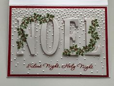 My Customers - Stampin' All Day With Bev sleigh bells ring for the holly
