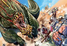 Fonds d'écran Jeux Vidéo > Fonds d'écran Monster Hunter saga Wallpaper N°334594 par lwolf97 - Hebus.com