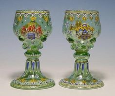 Historism Roemers Lobmeyr Vienna 1870-75