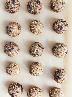 Cookie kugler / smagen af rå kagedej