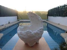 Maceta casera (kurama) de pomice y cemento - YouTube