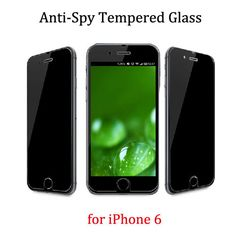 New for iPhone 6 4.7 Top Quality Premium Privacy Anti Spy Real Tempered Glass Screen Protector Protective Film Pelicula iPhone6