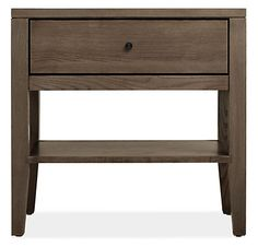 The Calvin storage collection is hand-built from Pacific Coast maple or the highest quality ash. Featuring a classic design with gently tapered legs and unique wood grain, each Calvin nightstand is handcrafted by Oregon woodworkers.