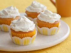 Get Lemon Cupcakes Recipe from Cooking Channel