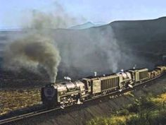 "South African Railways ""When steam was king"""