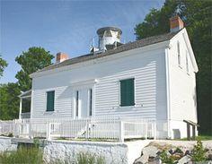 Jones Point Lighthouse, Virginia at Lighthousefriends.com