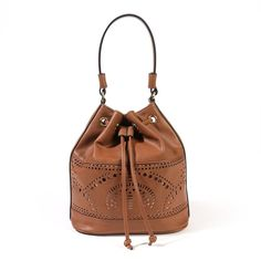 Buy Anne weyburn Tote Bag with Perforated Detail from Tote Bags range at… Womens Tote Bags, Luggage Bags, Bucket Bag, Handbags, Detail, Stuff To Buy, Don't Forget, Delivery, Fashion