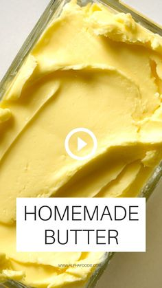 Cream Cheese Recipes, Homemade Butter, Burger, Vegan Dishes, Diy Food, Food Videos, Food To Make, Sauces, Food And Drink