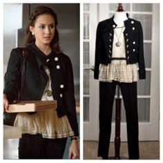 Spencer Hastings from Pretty Little Liars style is cute and girly!