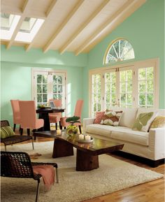 Sherwin-Williams 2013 Color of the Year: Vintage Moxie -- Aloe (SW 6464)