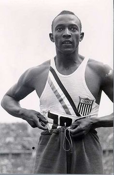 Jesse Owens by Black History Album, via Flickr