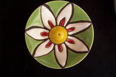 naga ceramica: Porta sahumerios chicos 2