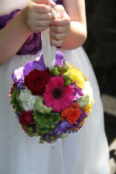 Beautiful Flower Girl's Pomander