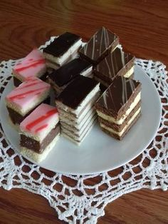 Hungarian Desserts, Hungarian Recipes, Nutella Recipes, Cake Recipes, Dessert Recipes, Kobe Steak, Confectionery, Christmas Desserts, Other Recipes