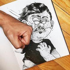 Imaginative and Amusing Illustrations by Alex Solis tumblr_nhqi6qHxxa1qksgkqo1_1280_640