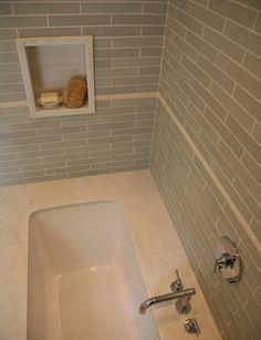 Carolyn Greco [Interior] Design Bath Room- Shower / Tile detail