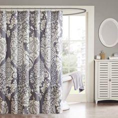 Home Essence Adela Cotton Shower Curtain - Walmart.com