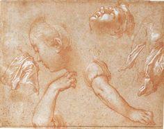 Abraham Bloemaert - Studies of Faces