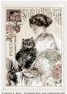Vintage Fisher Postcard 3