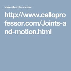 Cello Techniques