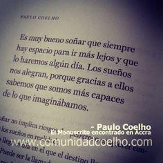 El #Cambio, en el #ManuscritodeAccra de @Paulo Coelho - Más, en www.comunidadcoelho.com