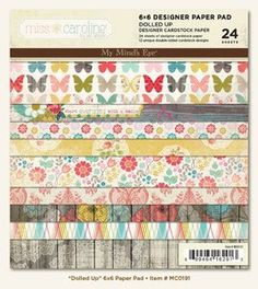 Dolled up paper pad