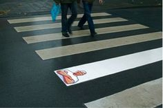 """Unconventional Outdoor Advertising Guerrilla Marketing Photo """"Meister Proper"""""""