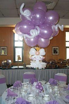 balloon angel centerpiece. #balloon centerpiece #balloon-centerpiece  #balloon decor #balloon-decor
