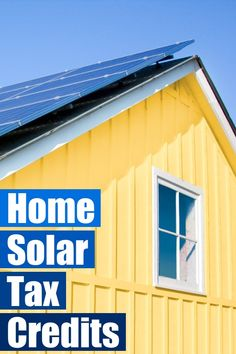 Put more money in your pocket, create jobs in America, and help fight climate change by going solar. The Residential Renewable Energy Tax Credit helps make solar power affordable for homeowners, but it's scheduled to expire on Dec. 31, 2016, so if you've been thinking of going solar, now is the time!