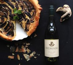 Simple and delicious mushroom quiche- ideal for your next ladies lunch. Pairs perfectly with a glass of Pinot Gris. Mushroom Quiche, Mushroom Casserole, Egg Recipes, Brunch Recipes, Wine Recipes, Pinot Gris, South African Wine, Ladies Lunch, Rice Pasta