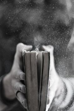 I love the smell and the magic of old books …