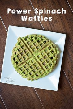 """Book: The book club pick for this month is """"Rebel Queen"""" by Michelle Moran. Fast Healthy Breakfast, Healthy Waffles, Protein Waffles, Breakfast Spinach, Spinach Protein, Breakfast Of Champions, Waffle Iron, Healthy Options, Healthy Baking"""