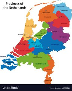 There are 12 provinces in the Netherlands—and North and South Holland are just two of them. Kingdom Of The Netherlands, South Holland, Nevada Map, South Africa Map, Old English Words, China Map, North America Map, France Map