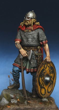 Viking Chief (10 cent.) http://www.puttyandpaint.com/projects/4861 ...