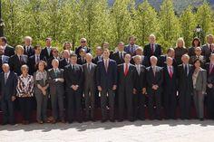 El Rey Felipe VI preside en La Granja la reunión del Consejo Científico del Real Instituto ElCano @rielcano  31-05-2016