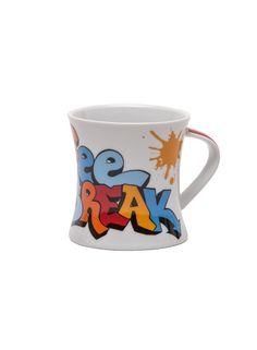 A Loja do Gato Preto | Caneca Coffee Break Vermelho #alojadogatopreto