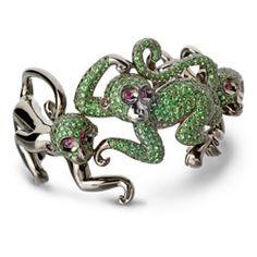 Collection Jungle Green : Bureau de Presse des Joailliers Créateurs - joaillerie, bijoux, opale