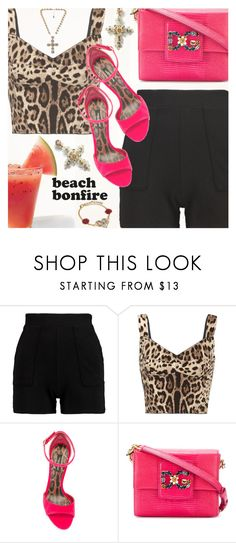 """""""Beach Nights"""" by shoaleh-nia on Polyvore featuring Dolce&Gabbana"""