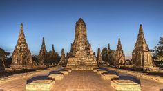"Wat Chai Wattanaram - Chai Wattanaram temple in Ayutthaya Feel free to follow me on : <a href=""https://www.facebook.com/manjik.photography"">Facebook</a> <a href=""https://www.flickr.com/photos/127381755@N02/"">Flickr</a> <a href=""https://www.instagram.com/manjik.pictures"">Instagram</a> <a href=""https://twitter.com/ManjikPictures"">Twitter</a>"
