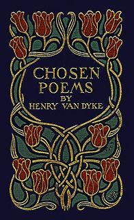 MA--Van Dyke--Chosen Poems