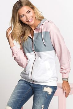 Urban Hooded Block Colour Jacket at EziBuy New Zealand. Buy women's, men's and kids fashion online. Fast delivery and 30 day returns. Kids Fashion, Fashion Outfits, Womens Fashion, Fall Chic, Distressed Denim Jeans, Vintage Fashion, Vintage 70s, Casual Street Style, Online Clothing Stores