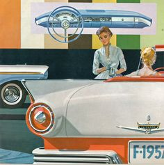 1957 Ford Fairlane 500 Sunliner Convertible | Flickr - Photo Sharing!