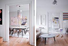 Stine A. Johansen�s bright and cozy interior design