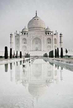 Taj Mahal , Agra of 7 wonders of the World Places Around The World, Oh The Places You'll Go, Travel Around The World, Places To Travel, Travel Destinations, Places To Visit, Taj Mahal, Wonderful Places, Beautiful Places