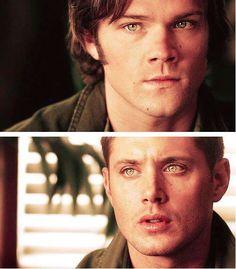 Sam and Dean...beautiful eyes