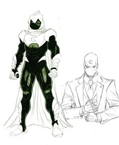 Moon Knight concept art by Ron Ackins * ★    CHARACTER DESIGN REFERENCES (pinterest.com/characterdesigh) • Do you love Character Design? Join the Character Design Challenge! (link→ www.facebook.com/groups/CharacterDesignChallenge) Share your unique vision of a theme every month, promote your art, learn and make new friends in a community of over 16.000 artists who share your same passion!    ★