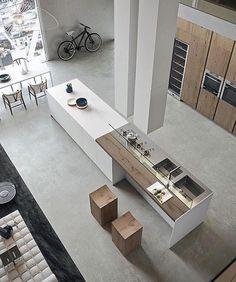 Cuisine Moderne Avec Grand Ilot Central Dans Un Loft   Visit The Website To  Seeu2026