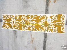 Mexican #textile #pattern