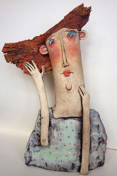 Have you ever met a prehistoric personality? - Sarah Saunders artist